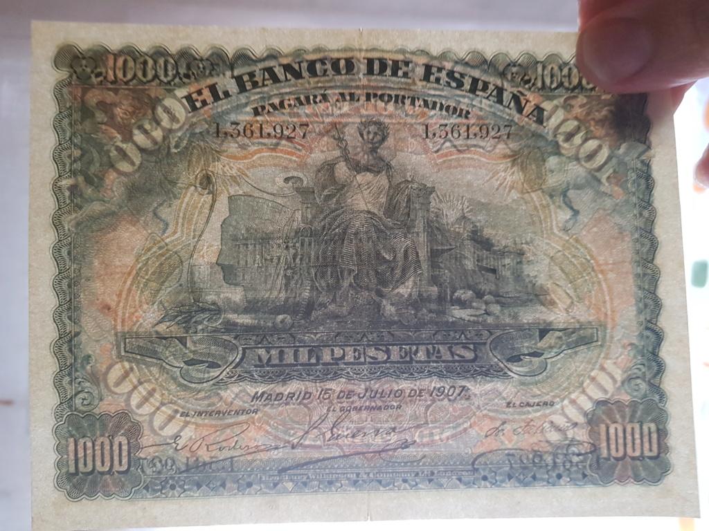 1000 pesetas julio 1907 20190911