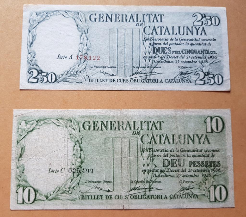 pesetas 1936 Generalitat 20200114