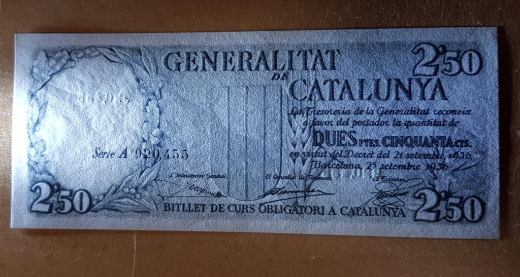 pesetas 1936 Generalitat 20200117