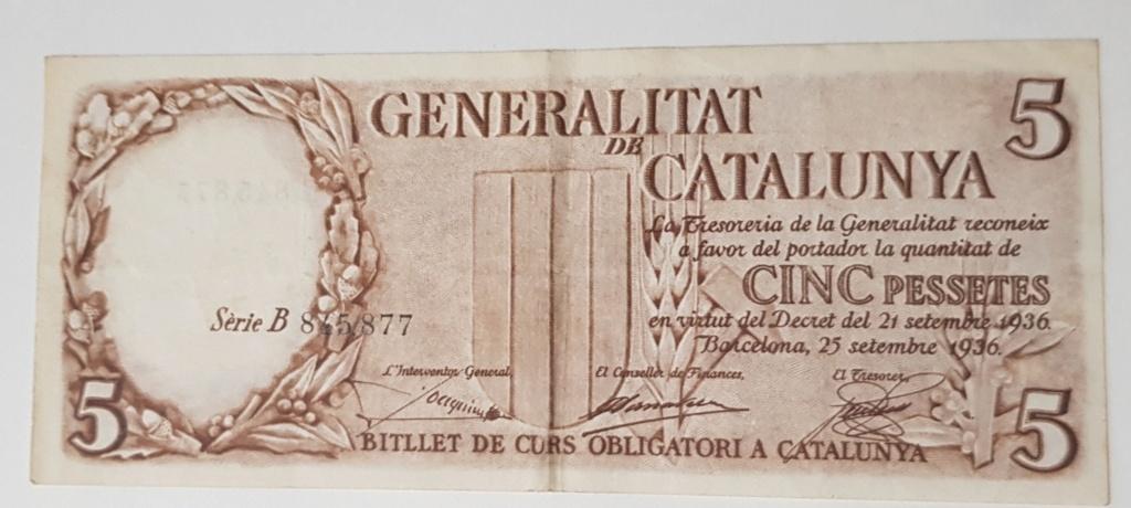 pesetas 1936 Generalitat 20200119