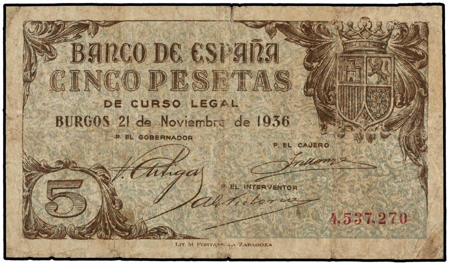 5 pesetas 1936 5p_19310