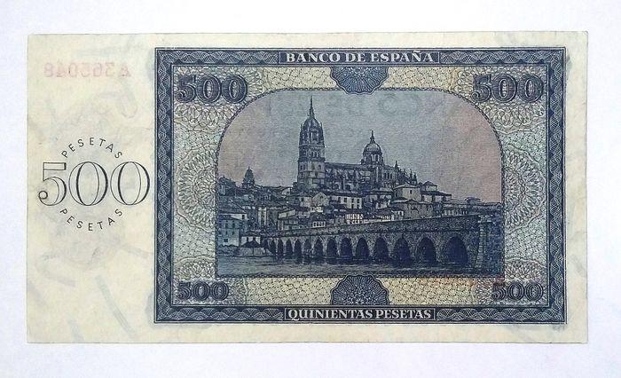 500 pesetas 1936 B8681b10