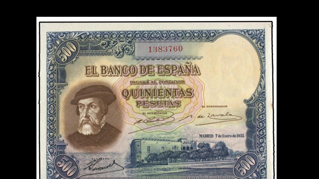 500 pesetas 1935 en Soler y Llach Baixa10