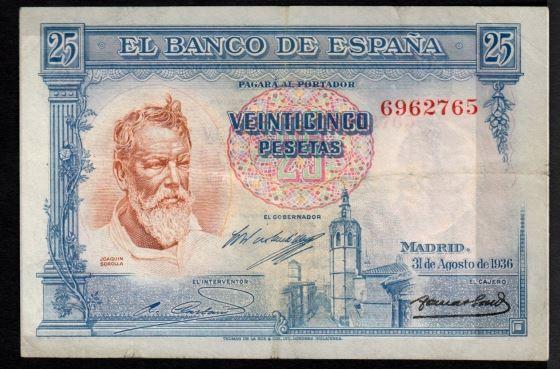 25 pesetas 1936 (Sorolla) Sin Serie Captur12