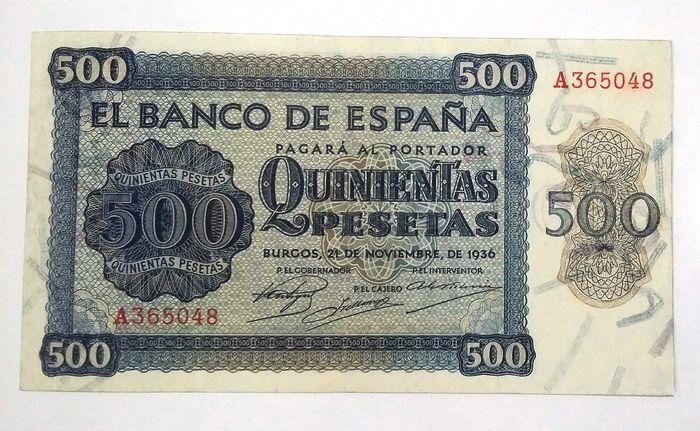 500 pesetas 1936 D1ad9910