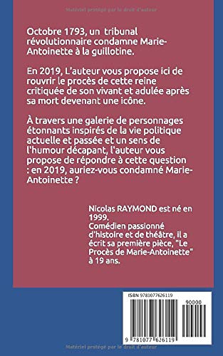 Le Procès de Marie-Antoinette par Nicolas Raymond 51zwzc10