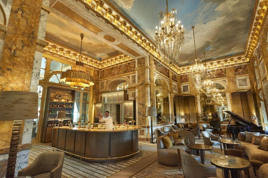 L'hôtel de Crillon et son Salon Marie-Antoinette Crillo10