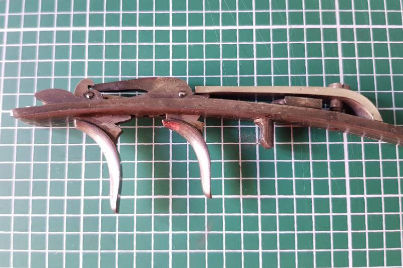 Une carabine de tir en 22lr d'origine inconnue, à restaurer. 21_ste10