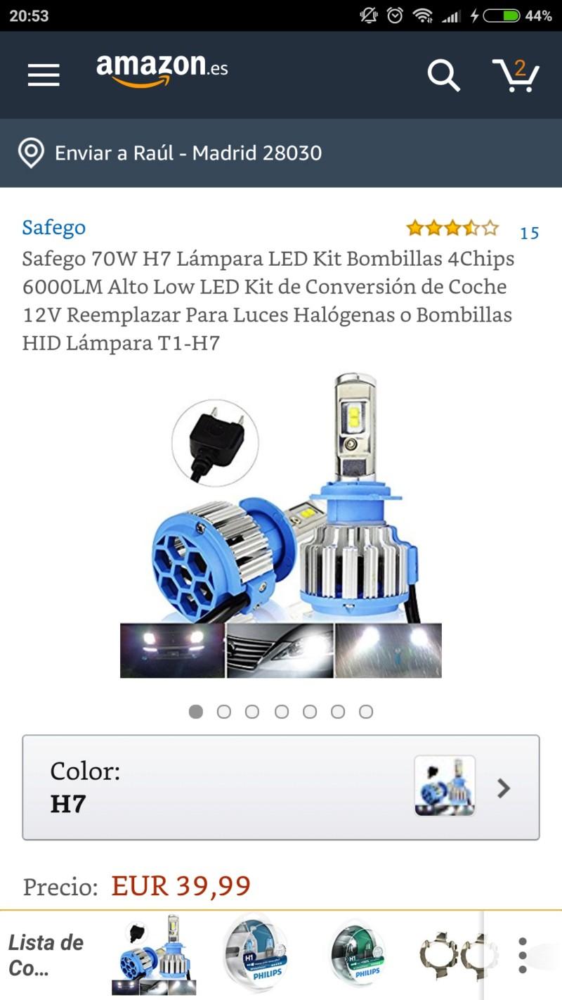 Cambio de halógeno por LED 20180610