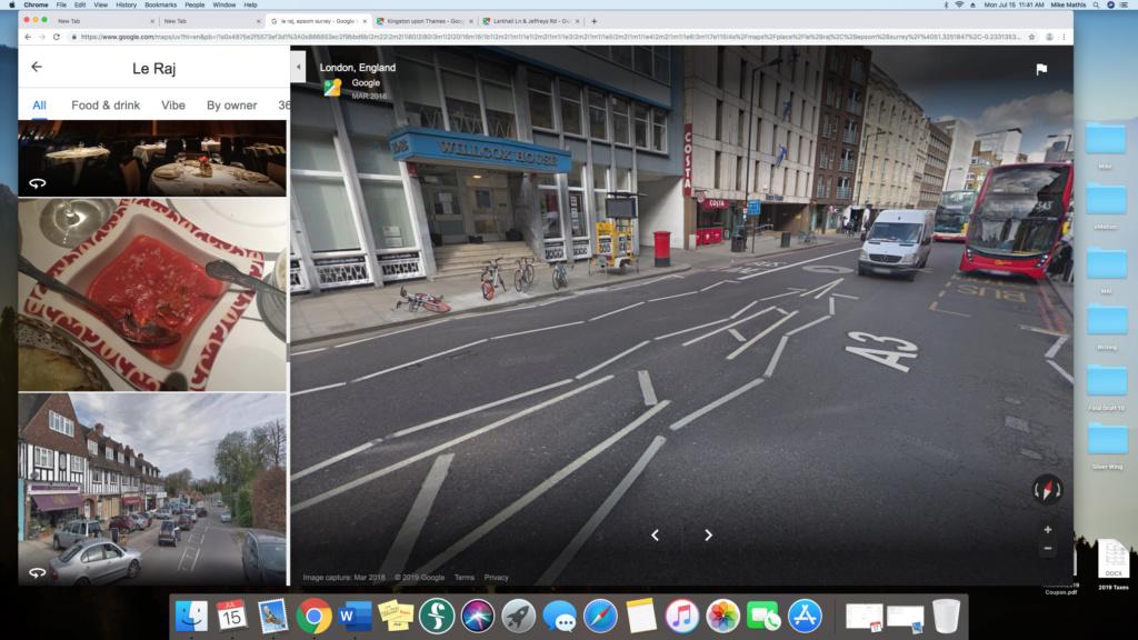 English lane markings Screen11