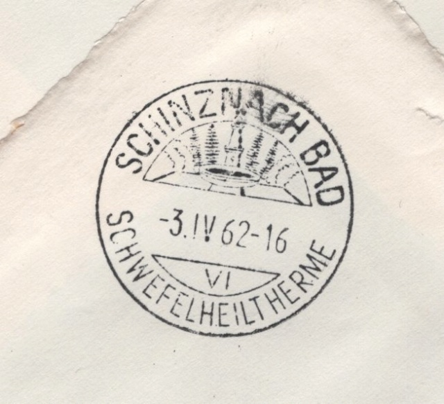 Stempel Tellspiele Altdorf 1962 Altdor13