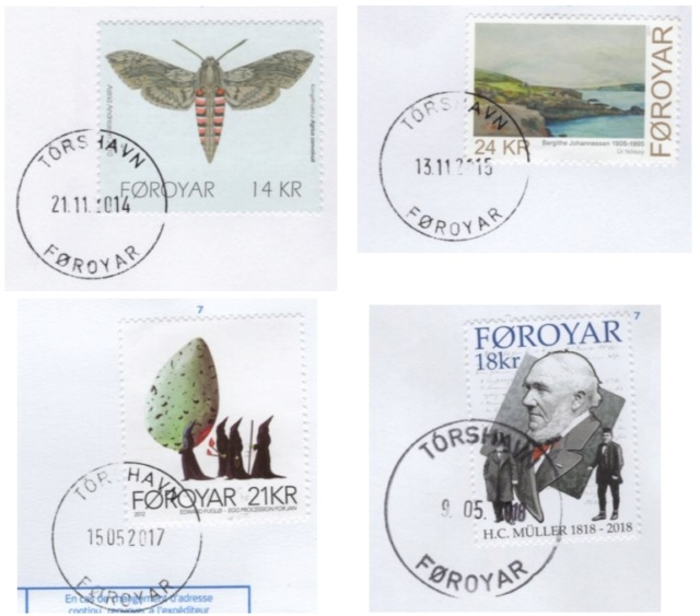 Mein Sammelgebiet: Färöer Inseln Faeroe12