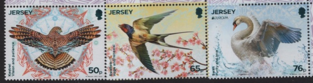 National Vögel auf Europa Marken 2019 Jersey10