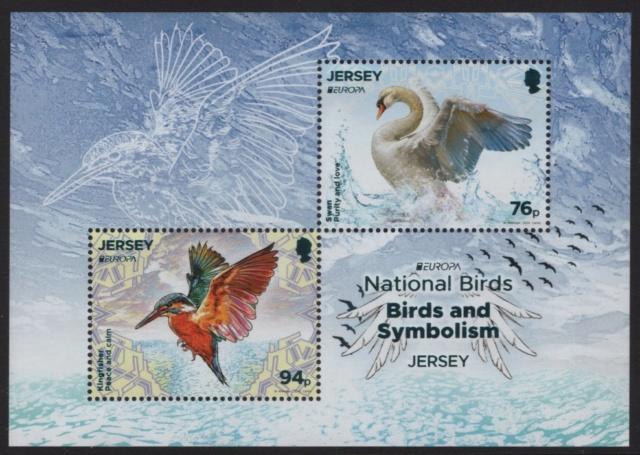 National Vögel auf Europa Marken 2019 Jersey11