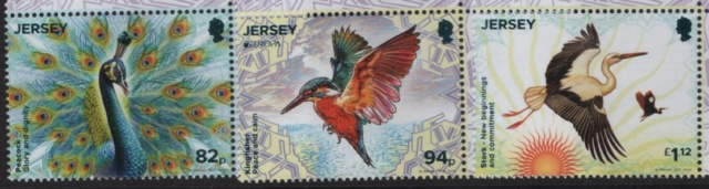 National Vögel auf Europa Marken 2019 Jersey12