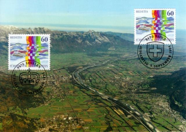 Maximumkarte Schweiz-Liechtenstein 1995 Mk_ch-10