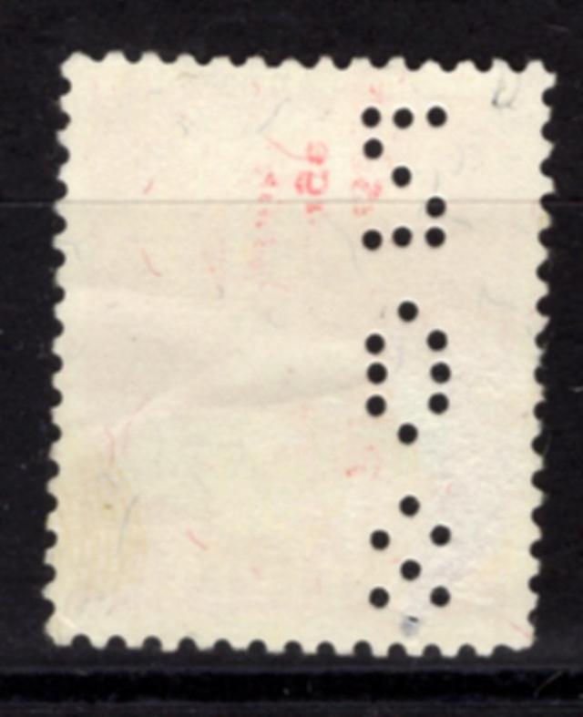 Perfin auf Pro Juventute 1963 Perfin10