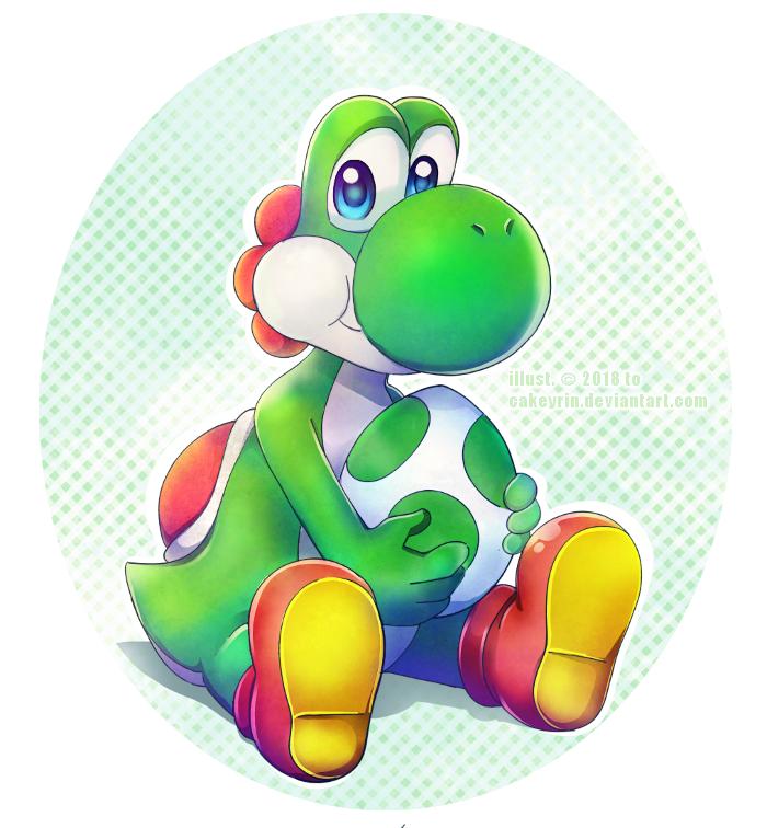 Algunos fan art de Yoshi B4df2310