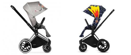 Cybex Priam review, Differences Cybex priam luxe and light stroller  Priam_11