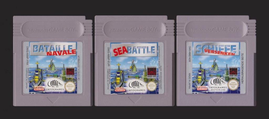 Jeux Gameboy : cartouches et variantes Batail11