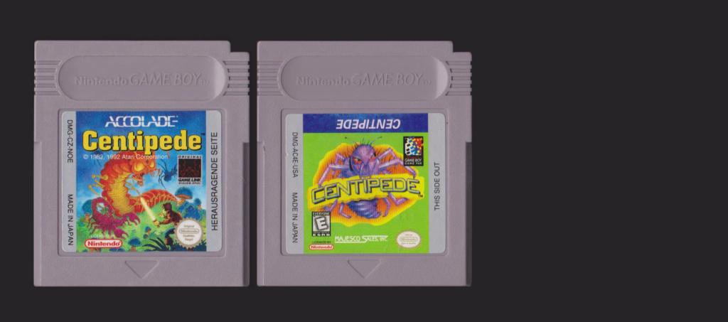 Jeux Gameboy : cartouches et variantes Centip10