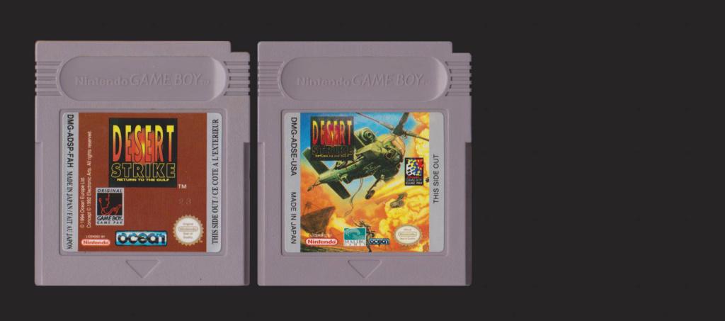 Jeux Gameboy : cartouches, variantes, anecdotes Desert10