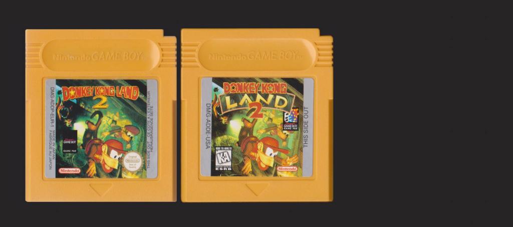 Jeux Gameboy : cartouches et variantes Donkey10