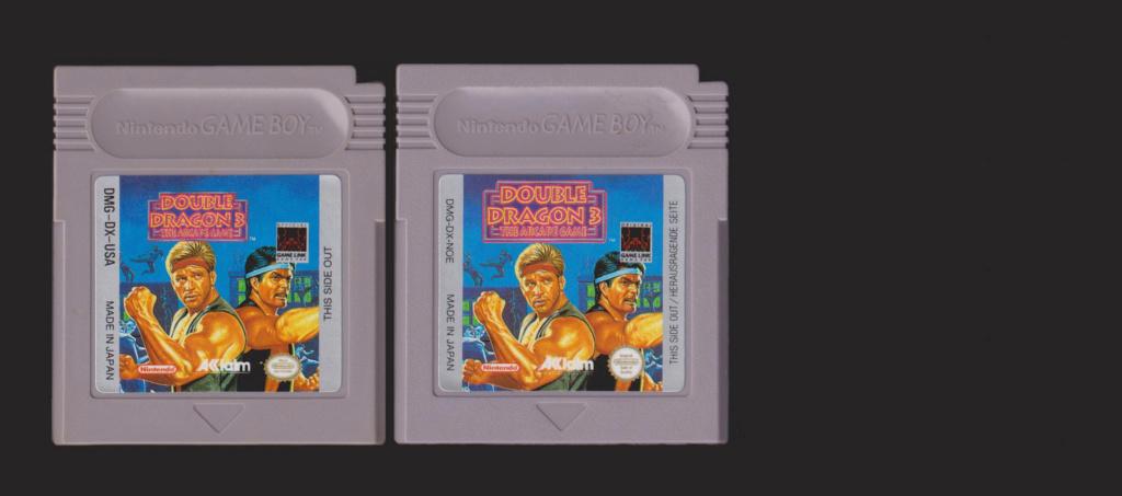 Jeux Gameboy : cartouches, variantes, anecdotes Double10