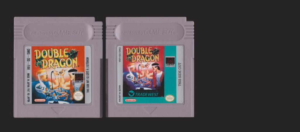Jeux Gameboy : cartouches et variantes Double13