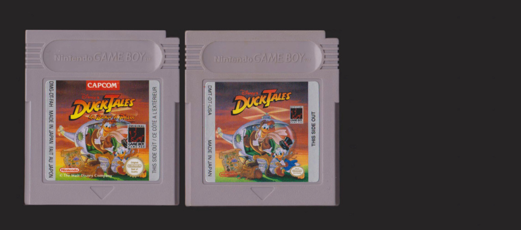 Jeux Gameboy : cartouches, variantes, anecdotes Duck_t10