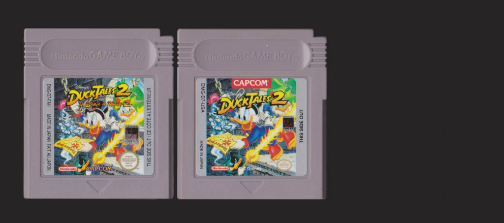 Jeux Gameboy : cartouches, variantes, anecdotes Duck_t11