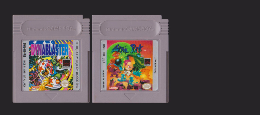 Jeux Gameboy : cartouches, variantes, anecdotes Dynabl10