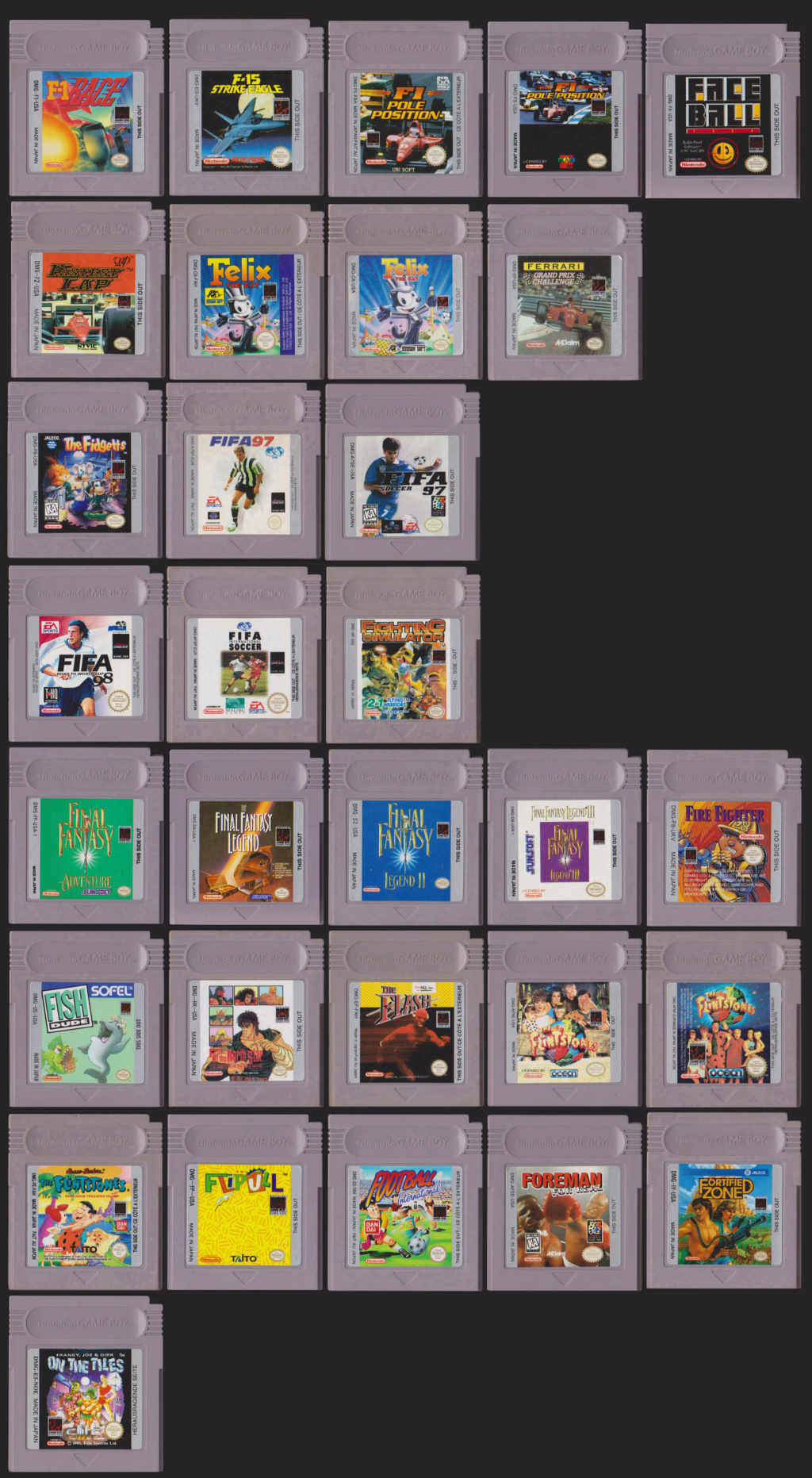 Collection Gameboy F10