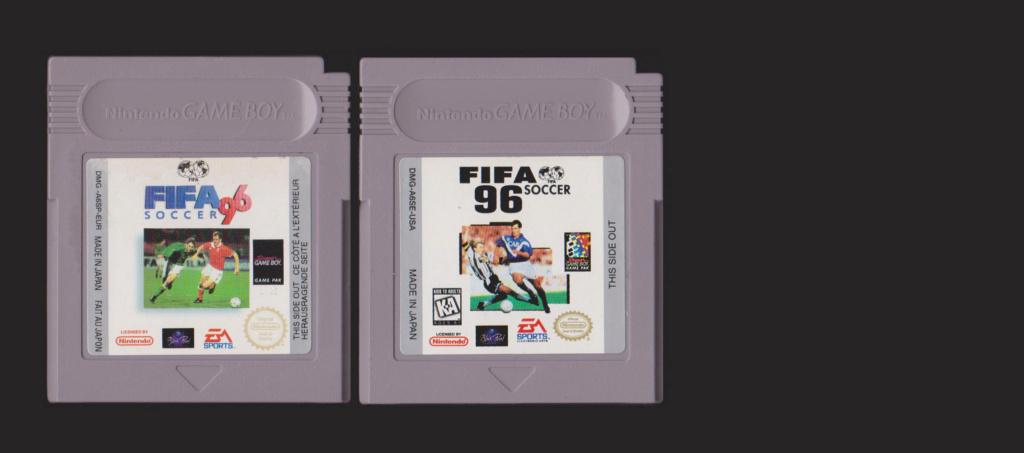 Jeux Gameboy : cartouches et variantes Fifa_911