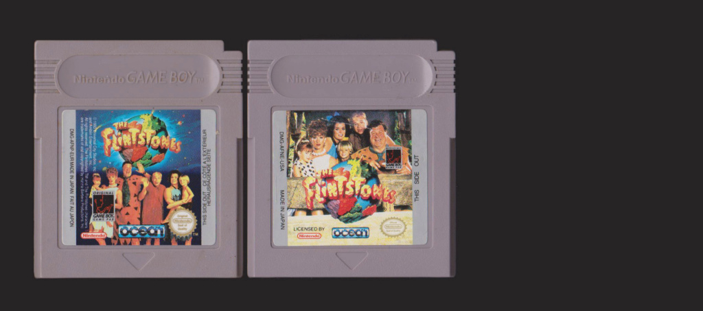 Jeux Gameboy : cartouches, variantes, anecdotes Flints10