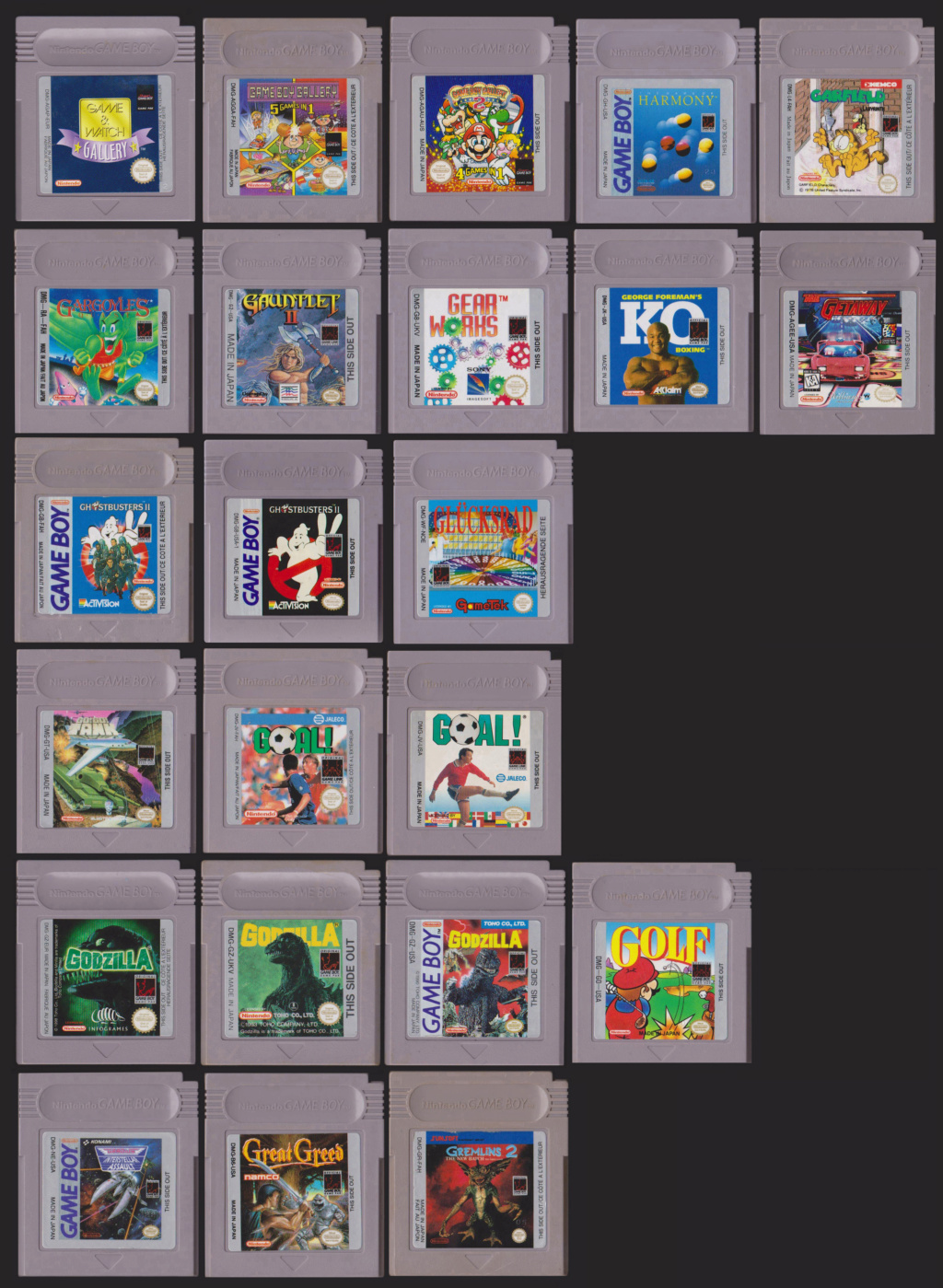 Collection Gameboy G11