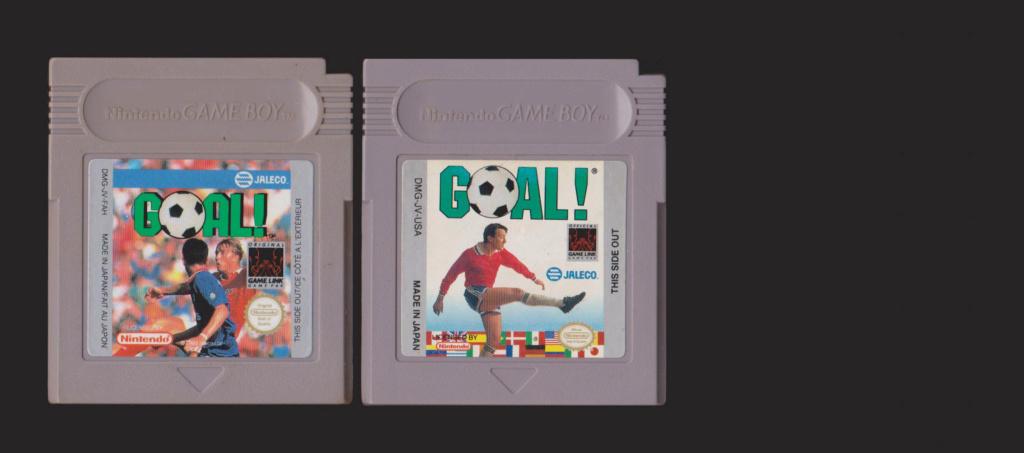 Jeux Gameboy : cartouches, variantes, anecdotes Goal10