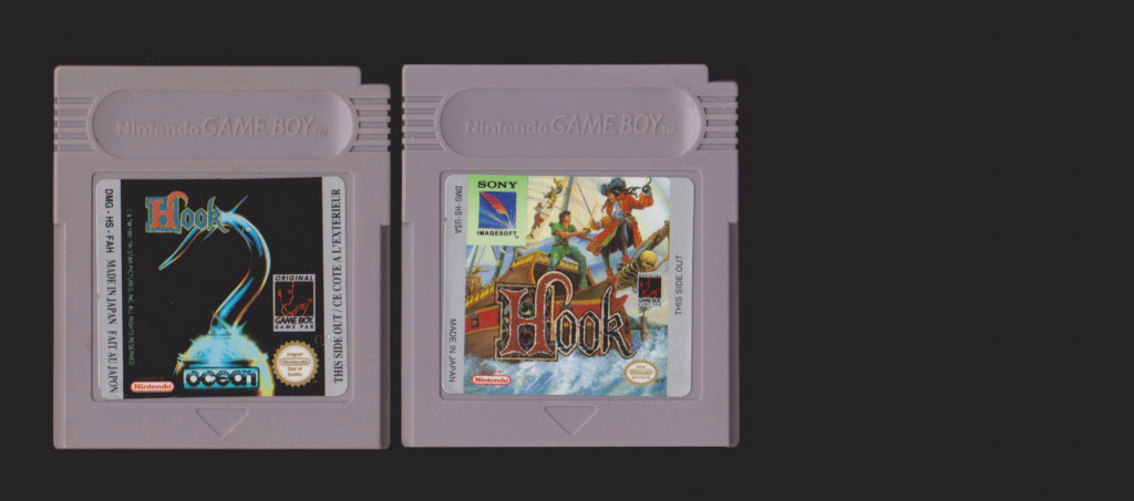 Jeux Gameboy : cartouches, variantes, anecdotes Hook12