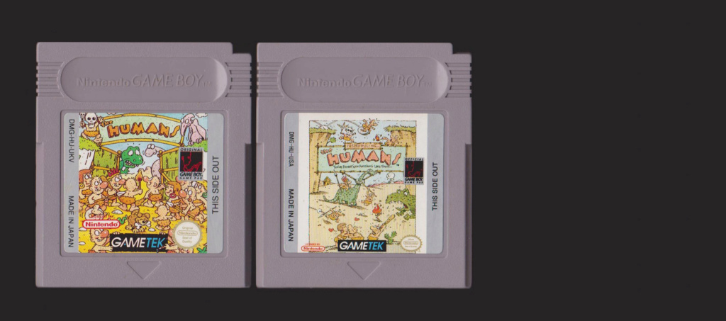 Jeux Gameboy : cartouches, variantes, anecdotes Humans10