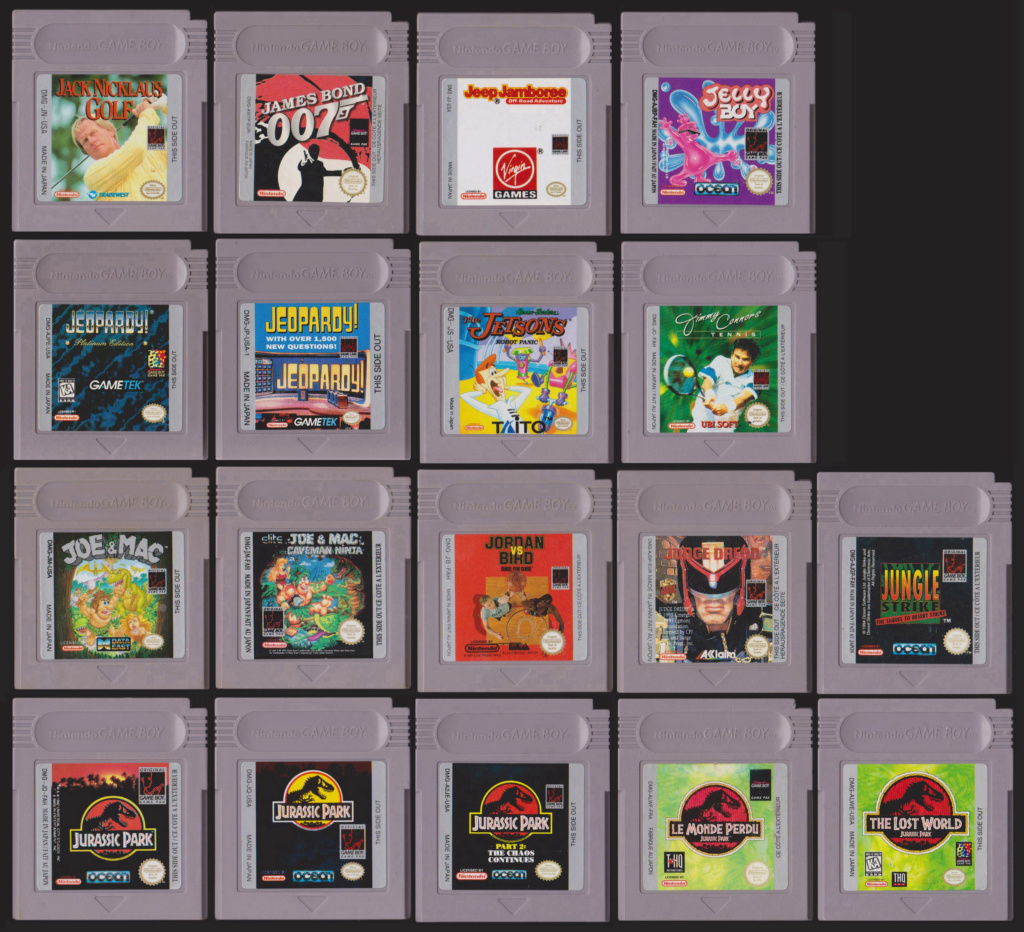 Collection Gameboy J10