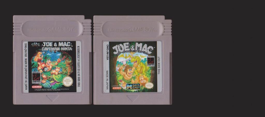 Jeux Gameboy : cartouches, variantes, anecdotes Joe_ma10