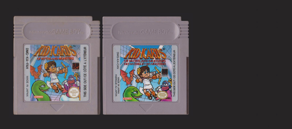 Jeux Gameboy : cartouches, variantes, anecdotes Kid_ic10