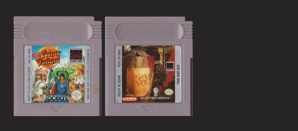 Jeux Gameboy : cartouches, variantes, anecdotes Legend10