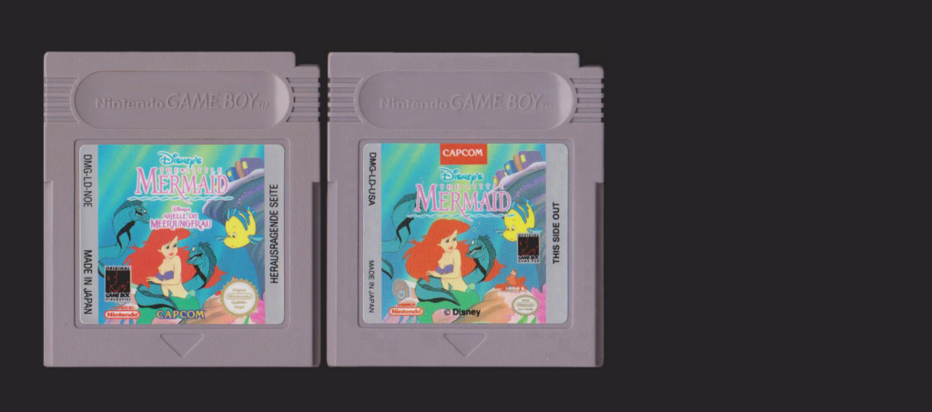 Jeux Gameboy : cartouches, variantes, anecdotes Little10