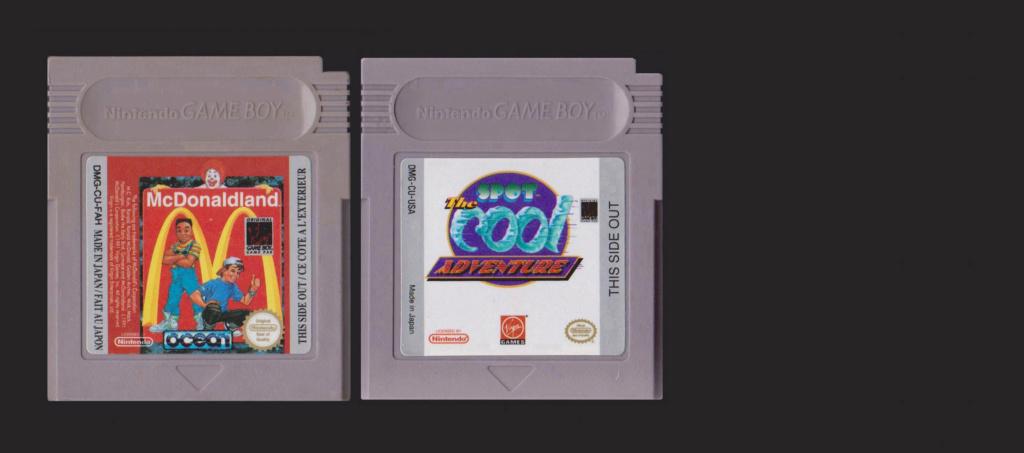 Jeux Gameboy : cartouches et variantes Macdo_10