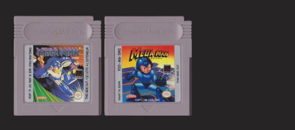 Jeux Gameboy : cartouches, variantes, anecdotes Megama10