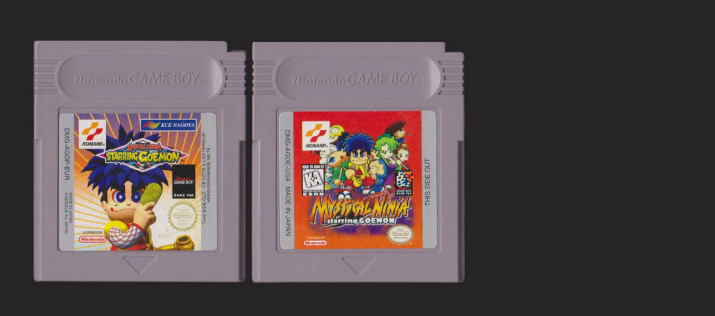 Jeux Gameboy : cartouches, variantes, anecdotes Mystic10