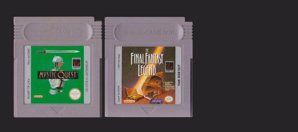Jeux Gameboy : cartouches, variantes, anecdotes Mystic11