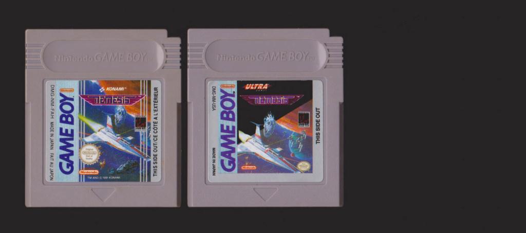 Jeux Gameboy : cartouches, variantes, anecdotes Nemesi13
