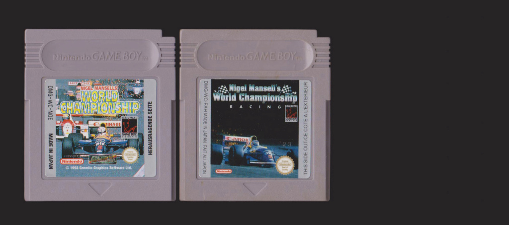 Jeux Gameboy : cartouches, variantes, anecdotes Nigel11